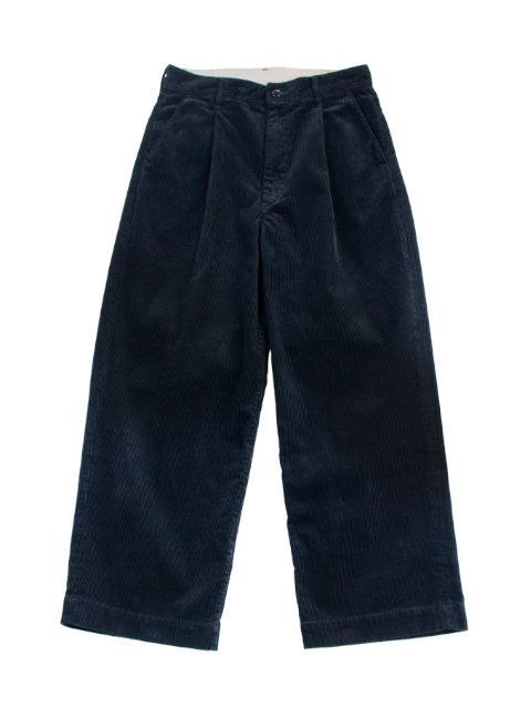 【H.UNIT】Corduroy crown size trousers