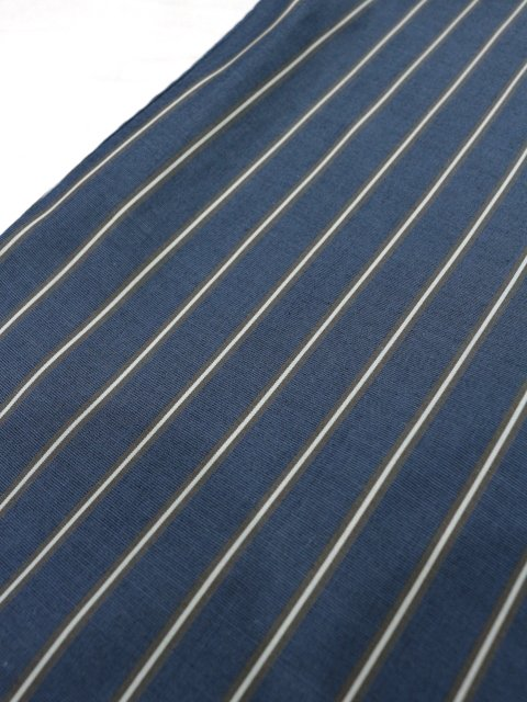 【SLICK】100/2 Stripe Dropped Shoulders Shirt:画像4