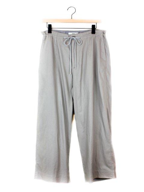 【amne】DRAPEY trouser:メイン画像