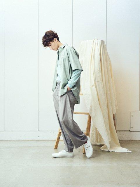 【amne】DRAPEY trouser:画像4