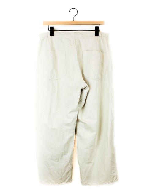 【amne】LINEN DENIM work trouser:画像2