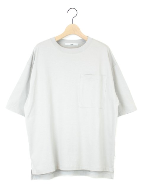 【amne】solid H_s tee