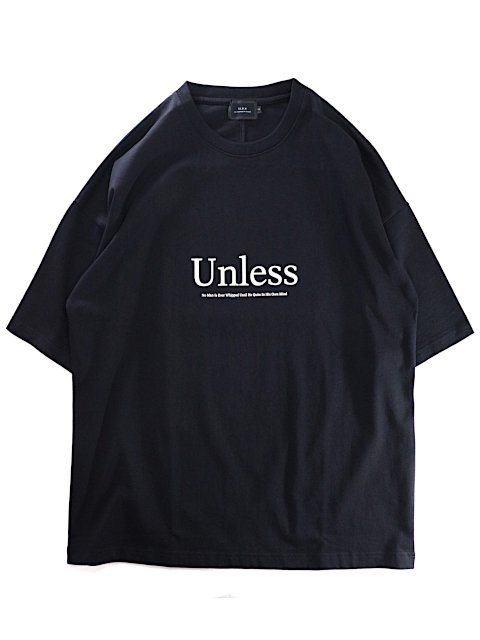 【SLICK】Dropped Shoulders Printed T-Shirt (Unless)