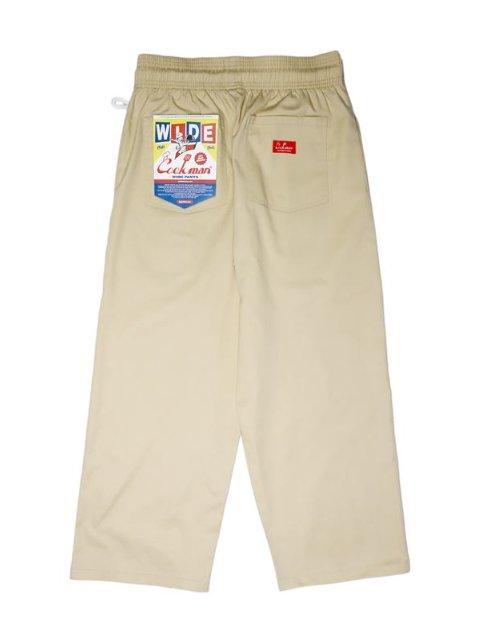 【COOKMAN】Wide Chef Pants:画像2
