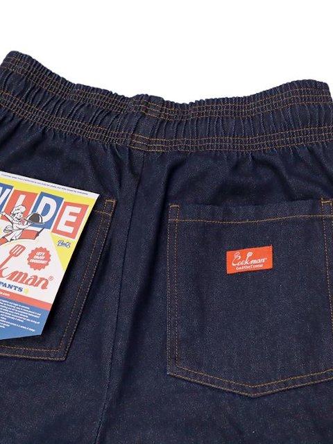 【COOKMAN】Wide Chef Pants Denim:画像2