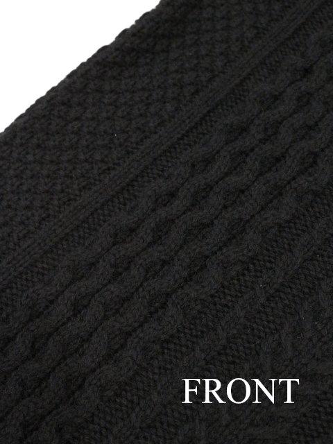 【soglia】LANDNOAH Fisherman Sweater:画像4