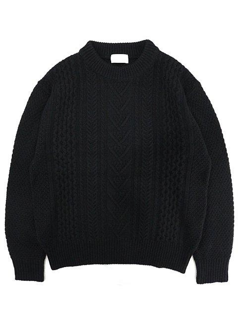 【soglia】LANDNOAH Fisherman Sweater
