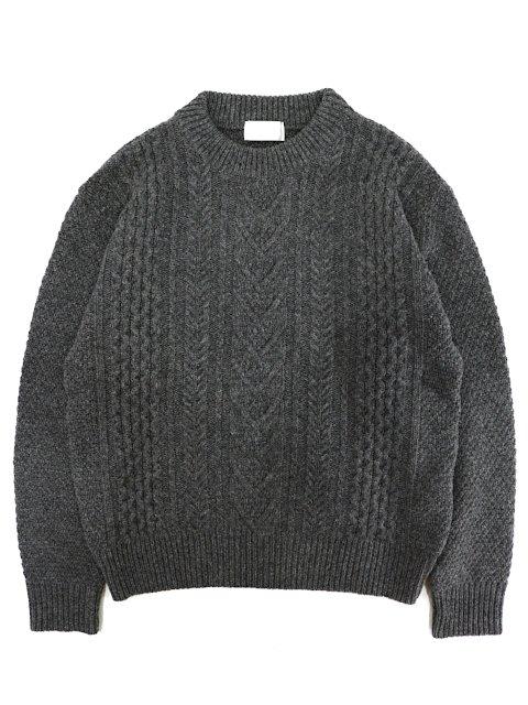 【soglia】LANDNOAH Fisherman Sweater:メイン画像