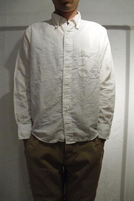 【THE BAGGY】LINEN&COTTON L/S B.D.:画像4