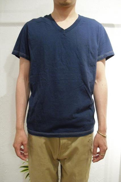 【FRUIT OF THE LOOM】PIECE DYEING V-NECK S/S Tee【DM便発送可能】:画像4