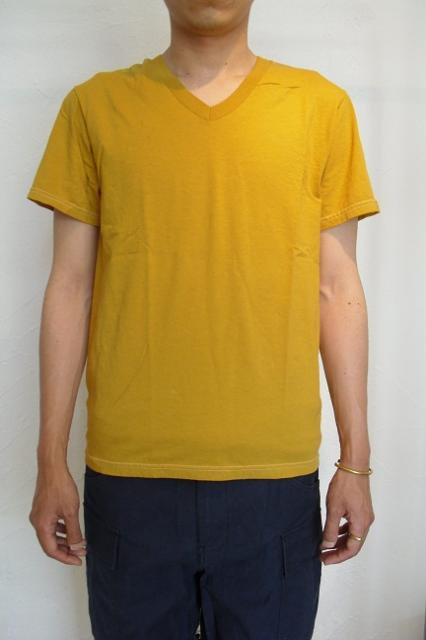 【FRUIT OF THE LOOM】PIECE DYEING V-NECK S/S Tee【DM便発送可能】:画像2