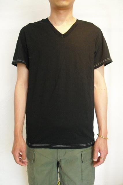 【FRUIT OF THE LOOM】PIECE DYEING V-NECK S/S Tee【DM便発送可能】:画像3