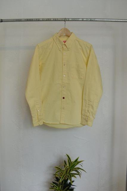 【ROUND HOUSE】OXFORD L/S B.D. SHIRTS:メイン画像