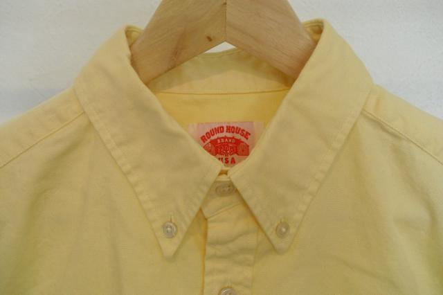 【ROUND HOUSE】OXFORD L/S B.D. SHIRTS:画像2