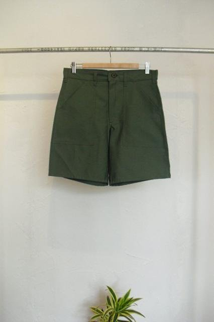 【GUNG HO】FATIGUE BACK SATEEN SHORTS