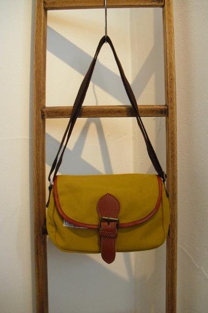 【ROUND HOUSE】CANVAS MINI SHOULDER BAG:メイン画像