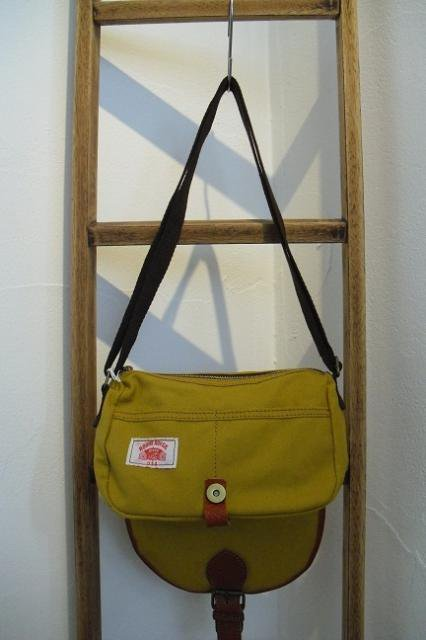 【ROUND HOUSE】CANVAS MINI SHOULDER BAG:画像3
