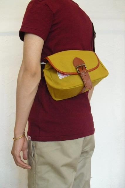【ROUND HOUSE】CANVAS MINI SHOULDER BAG:画像4
