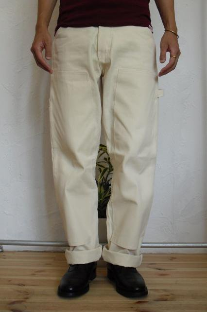 【ROUND HOUSE】DOUBLE FRONT PAINTER PANT:画像3