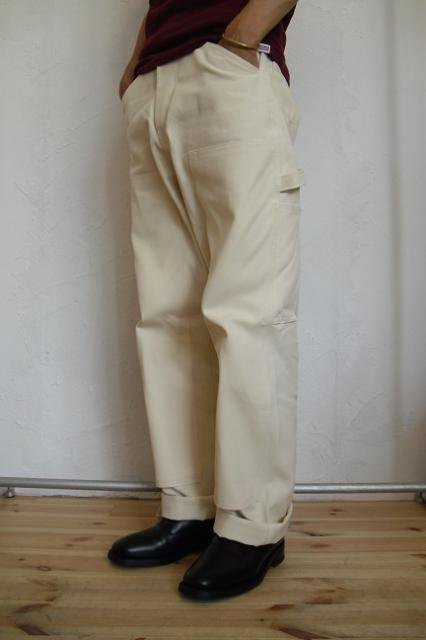 【ROUND HOUSE】DOUBLE FRONT PAINTER PANT:画像4