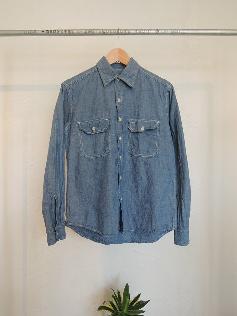 【CAMCO】L/S CHAMBRAY WORK SHIRTS:メイン画像