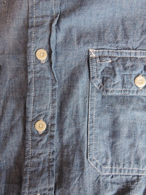 【CAMCO】L/S CHAMBRAY WORK SHIRTS:画像3