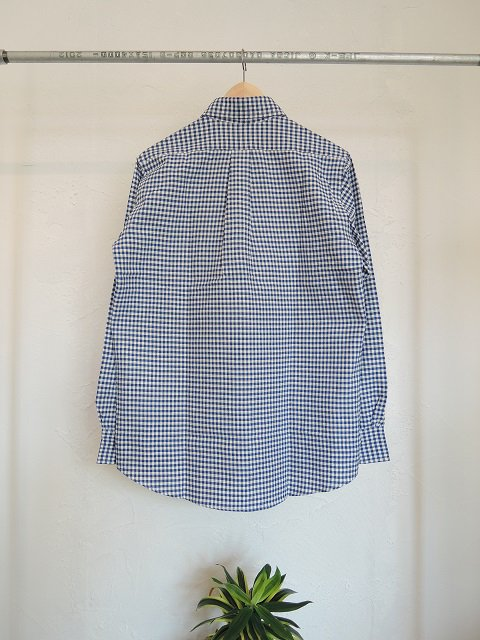 【THE BAGGY】GINGHAM CHECK OXFORD L/S B.D.:画像2