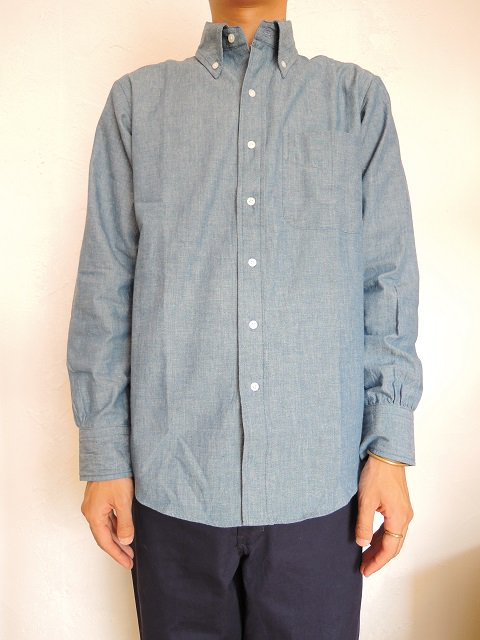 【THE BAGGY】CHAMBRAY L/S B.D.:画像4