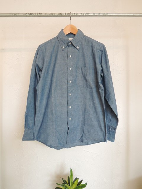 【THE BAGGY】CHAMBRAY L/S B.D.