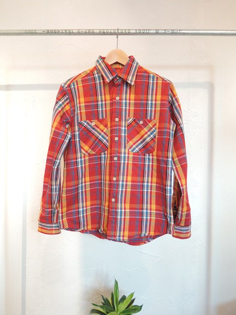 【CAMCO】DOUBLE FACE FLANNEL SHIRTS