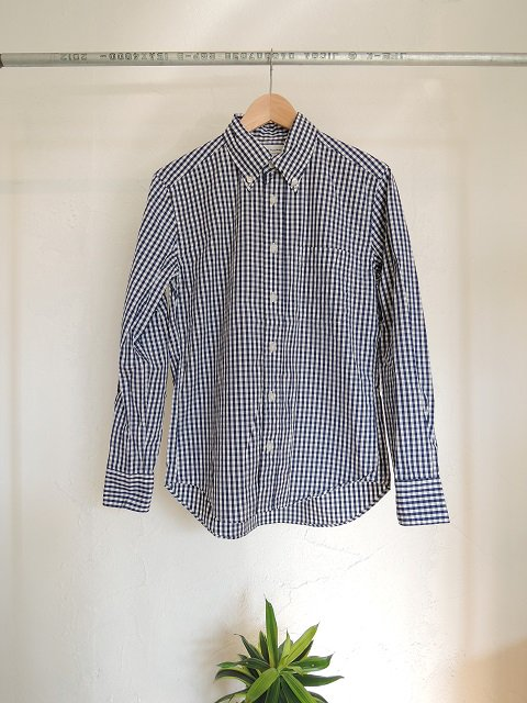 【MANUAL ALPHABET】GINGHAM BD SHIRTS