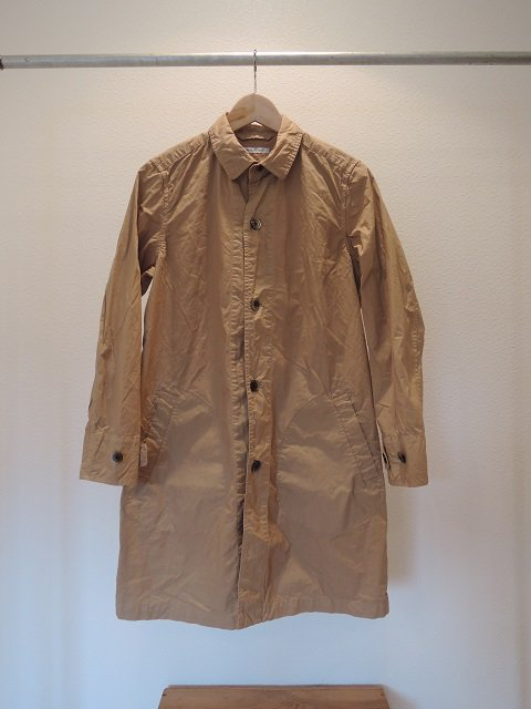【MANUAL ALPHABET】O/D タイプライター SHT COAT(WOMEN)