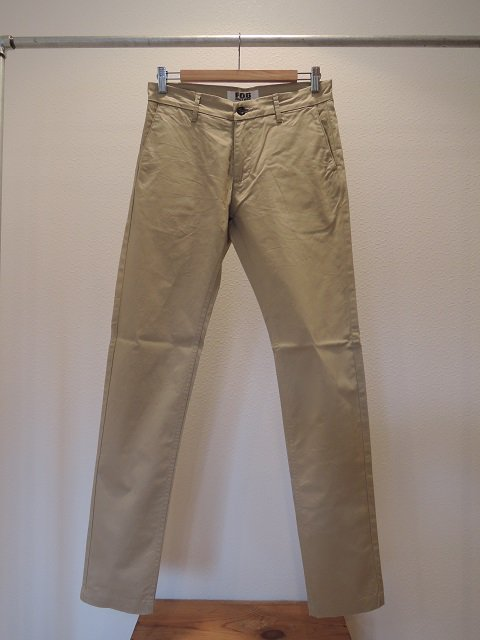 【F.O.B FACTORY】CHINO TROUSERS