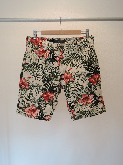 【F.O.B FACTORY】FLOWER WORK SHORTS:メイン画像
