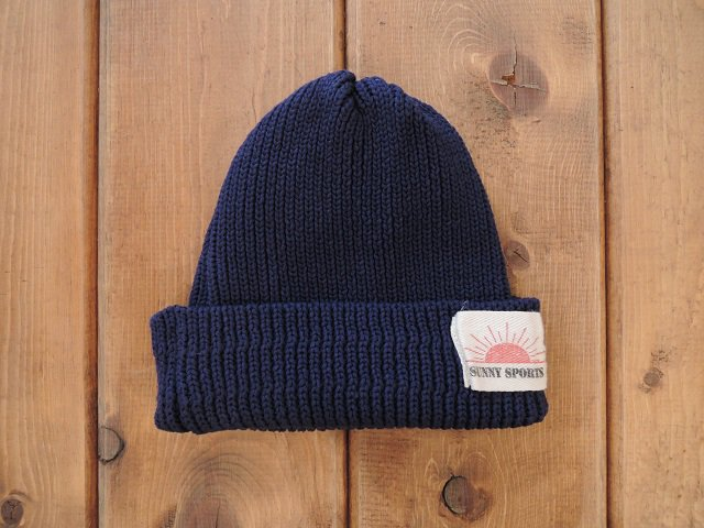 【SUNNY SPORTS】COTTON KNIT CAP【DM便発送可能】
