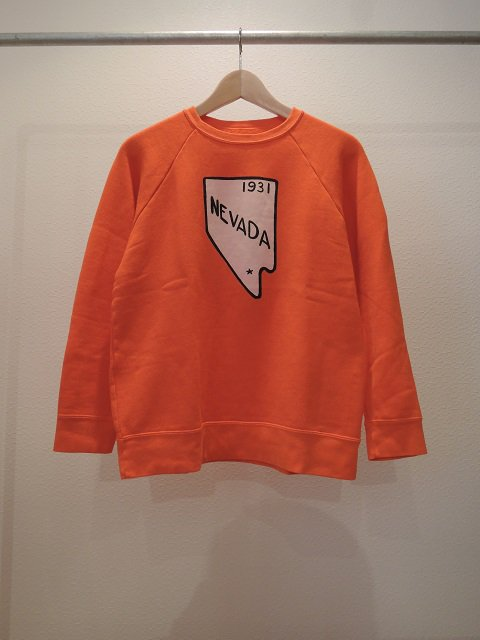 "【SALT WATER COWBOY】""NEVADA""CREW SWEAT"