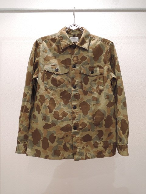 【MANUAL ALPHABET】CAMO PT MILITARY シャツジャケット