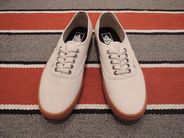 【VANS】AUTHENTIC(GUMSOLE)