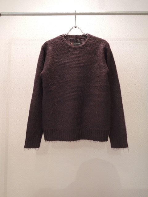 【TOWN CRAFT】MOHAIR CREW-NECK(WOMEN)