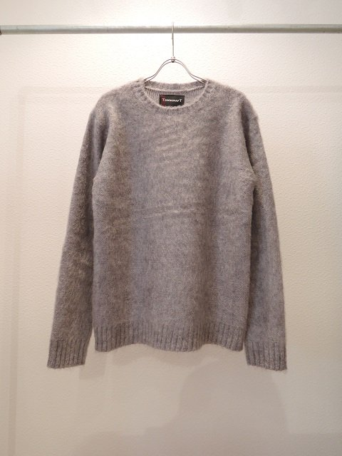 【TOWN CRAFT】MOHAIR CREW-NECK