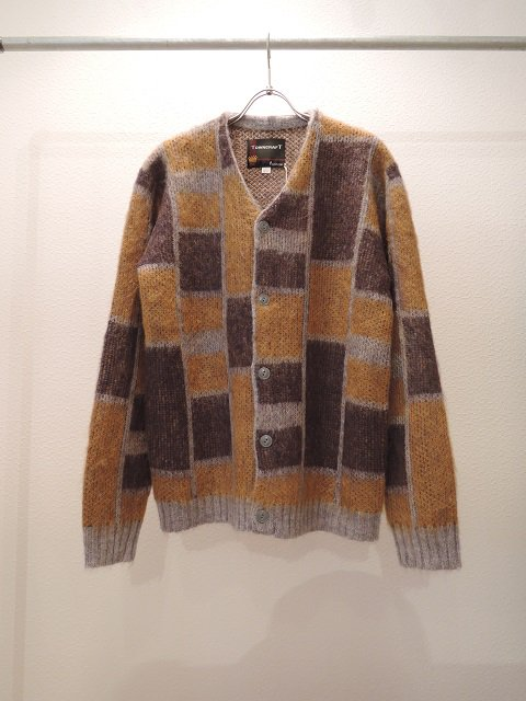 【TOWN CRAFT】JACGUARD CARDIGAN