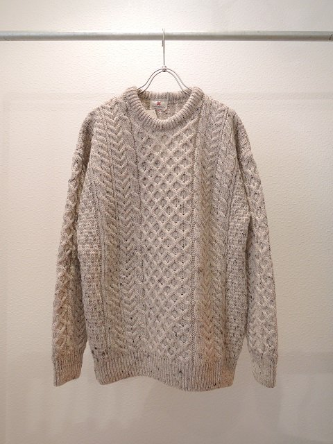 【CARRAIG DONN】FISHERMAN'S CREW NECK SWEATER