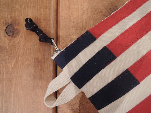 【Butler Verner Sails】アメリカンフラッグポーチ【DM便発送可能】:画像4