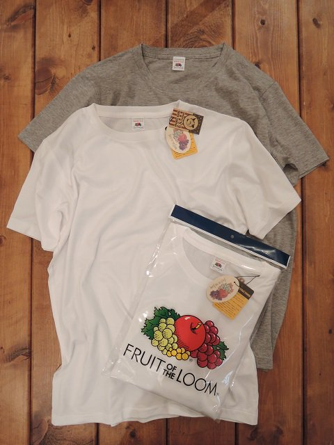 【FRUIT OF THE LOOM】CREW NECK SHORT SLEEVE TEE(2PACK)