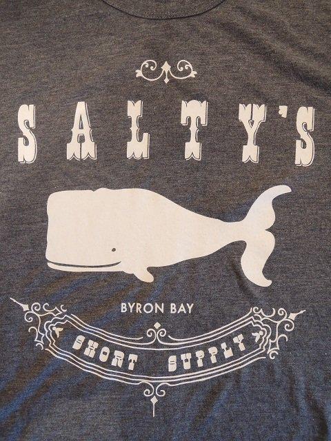 【SALTY'S】SALTY WHALE TEE【DM便発送可能】:画像3