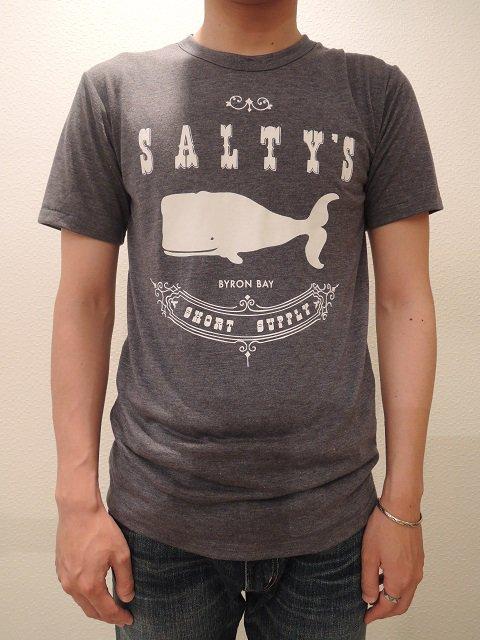 【SALTY'S】SALTY WHALE TEE【DM便発送可能】:画像4