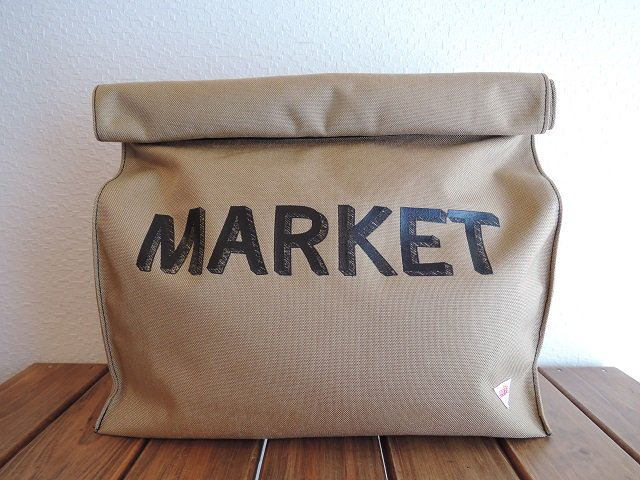 【melple】MARKET BAG【DM便発送可能】