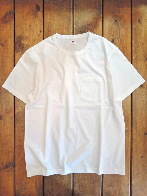【FRUIT OF THE LOOM】CREW NECK POCKET TEE【DM便発送可能】:メイン画像