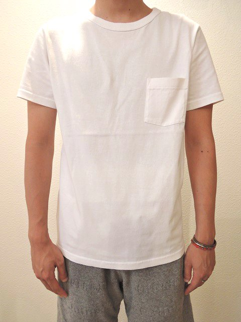 【FRUIT OF THE LOOM】CREW NECK POCKET TEE【DM便発送可能】:画像4