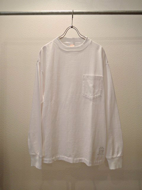【TOWN CRAFT】CLASSIC LS POCKET TEE【DM便発送可能】